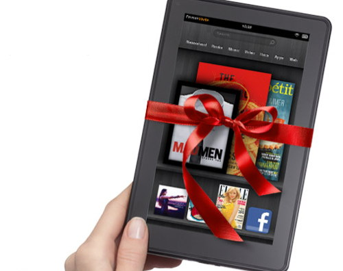 provide kindle ebook as present